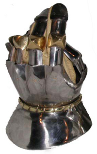14th Century Hourglass Gauntlets